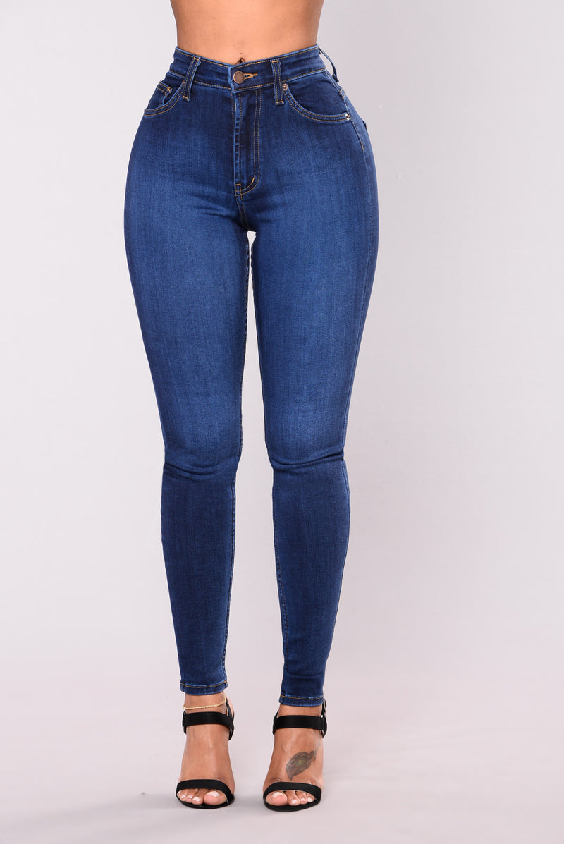 Precious Fit High Waisted Jean - Dark