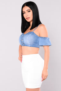 Carri Off Shoulder Top - Medium