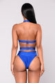 Franny Bandage Swimsuit - Royal