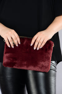 Furlove Crossbody - Burgundy