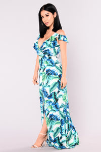 Mauna Kea Maxi Dress - Green