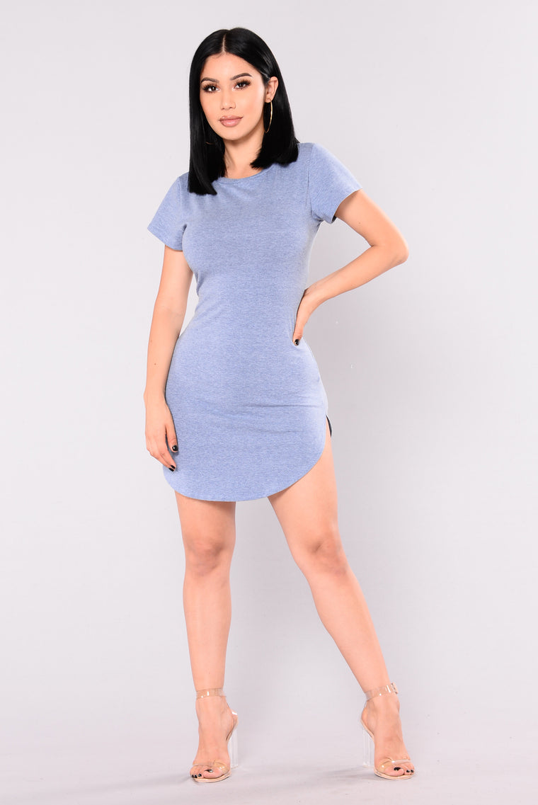 Tori Tunic - Light Denim