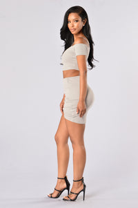Simplified Skirt - Silver