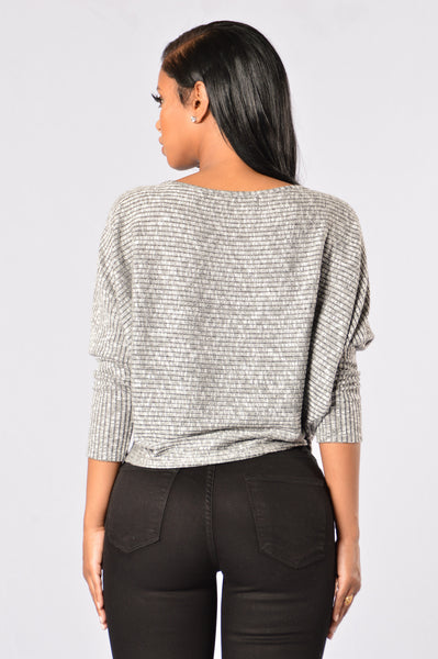 On & Off Relationship Sweater - Black