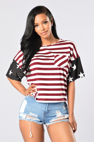 Miss Independent Tee - Multi