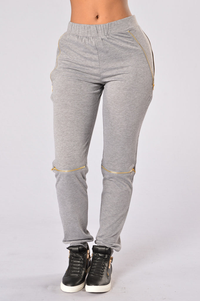 On the Go Pants - Dark Grey