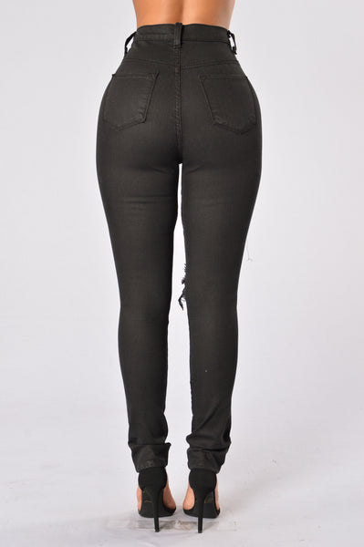 Midnight Assassin Jeans - Black