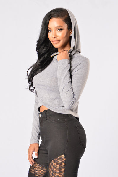 On the Go Hoodie - Dark Grey