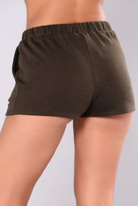 Pretty In Punk Bottoms - Olive