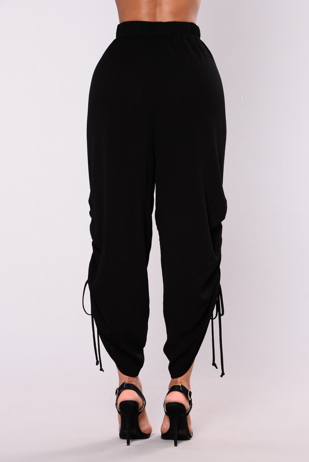 Wendy Woven Pants - Black