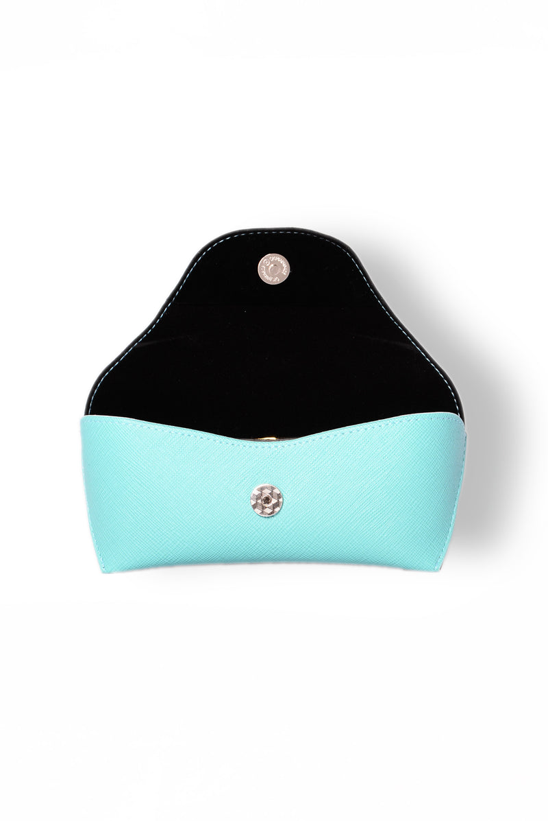 Bella Sunglass Case - Teal