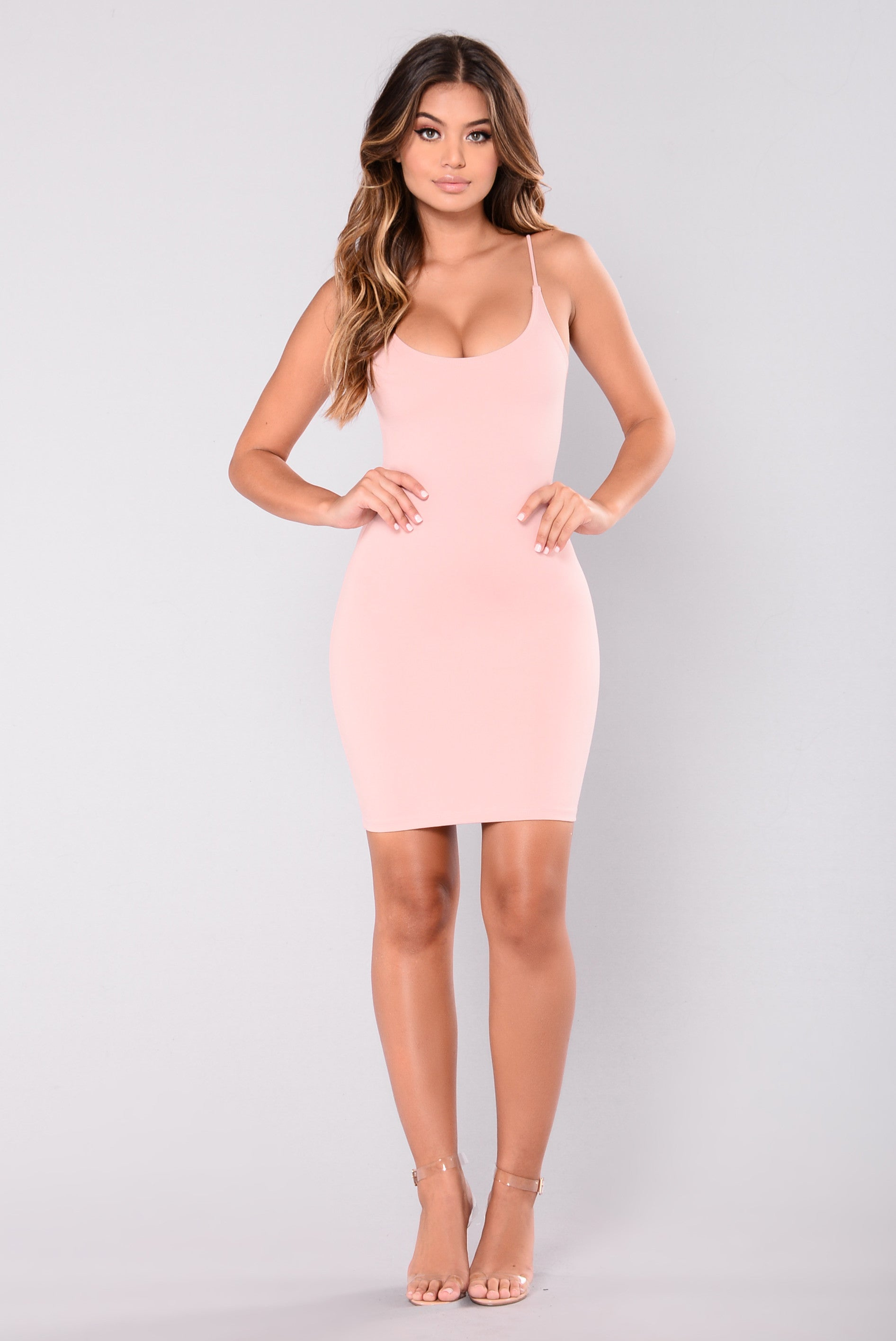 Pink Bodycon Dress Fashion Nova