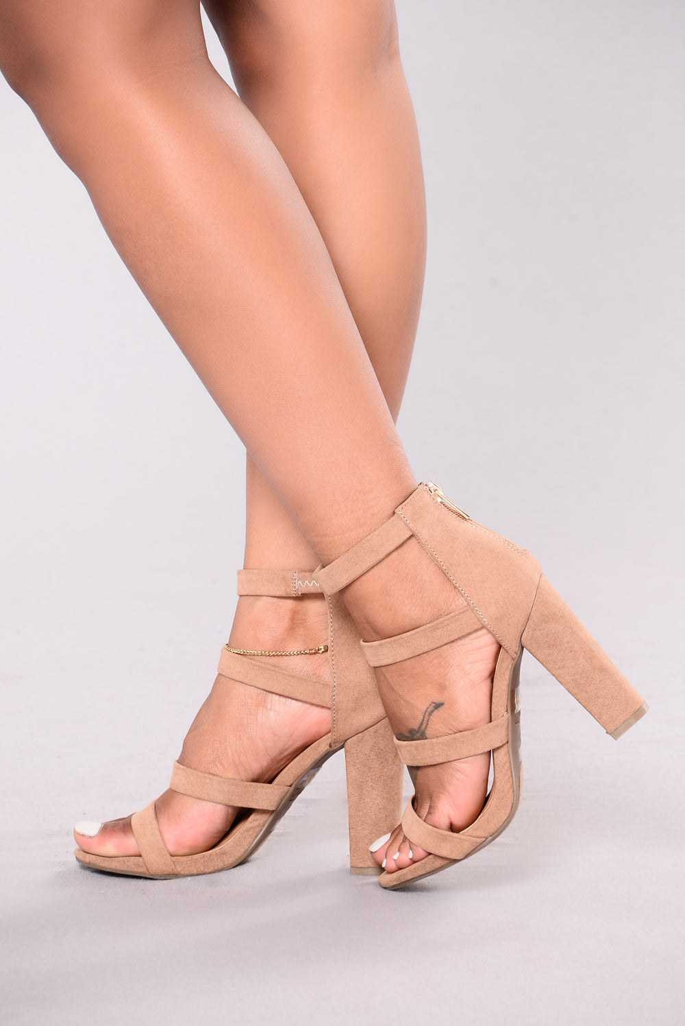 Got Nothing On Me Heels - Nude