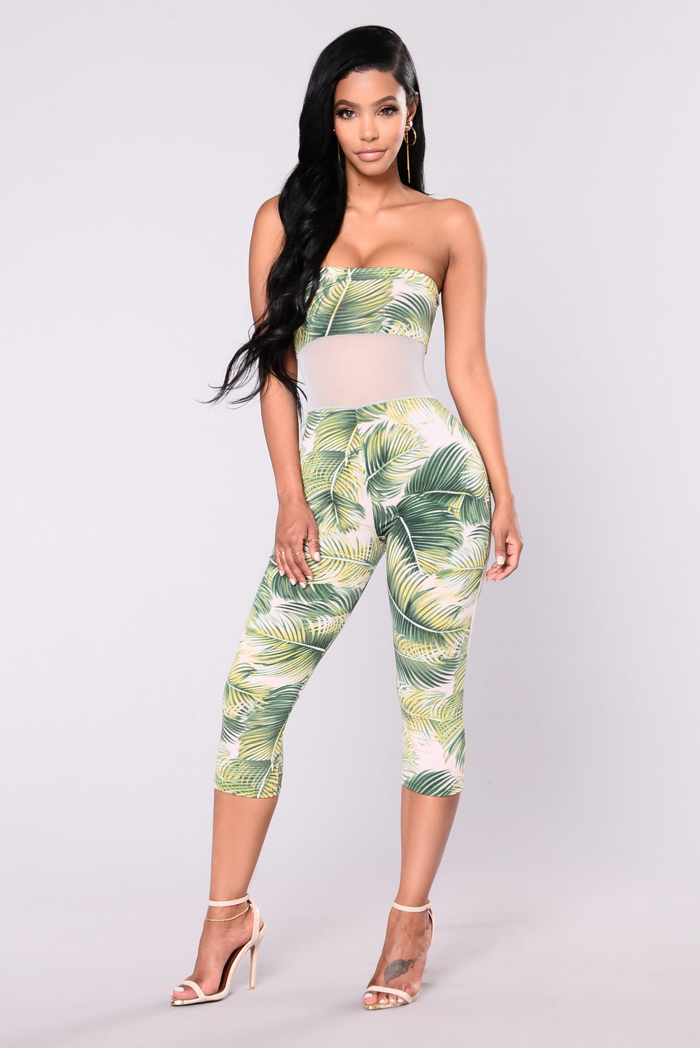 Mayan Empire Tropical Set - Green