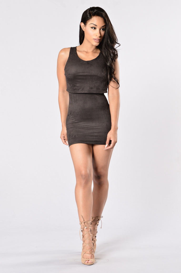 Let's Bounce Dress - Black