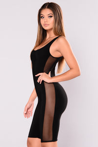 Capricorn Cropped Jumpsuit - Black
