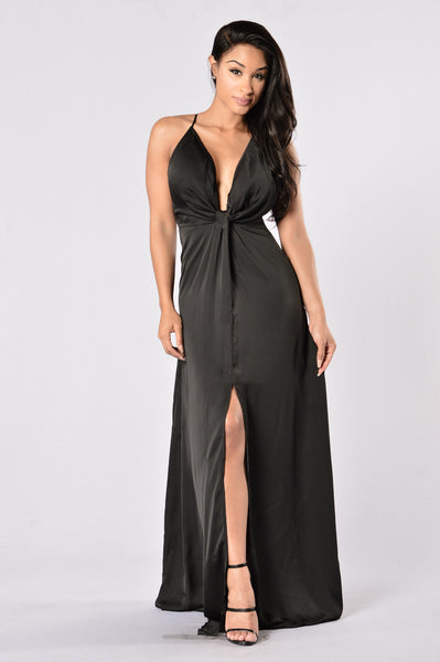 Hollywood Glam Dress - Black
