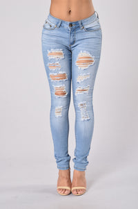 Damsel in Distress Jeans - Medium Blue