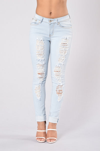 Ready or Not Jeans - Light