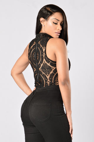Ethereal Bodysuit - Black