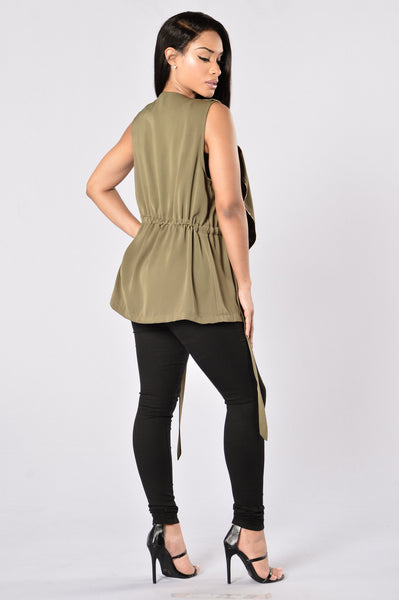Free and Easy Jacket - Olive