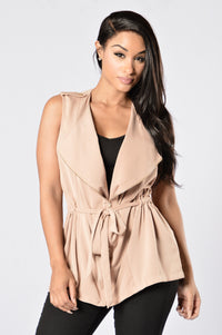 Free and Easy Jacket - Tan