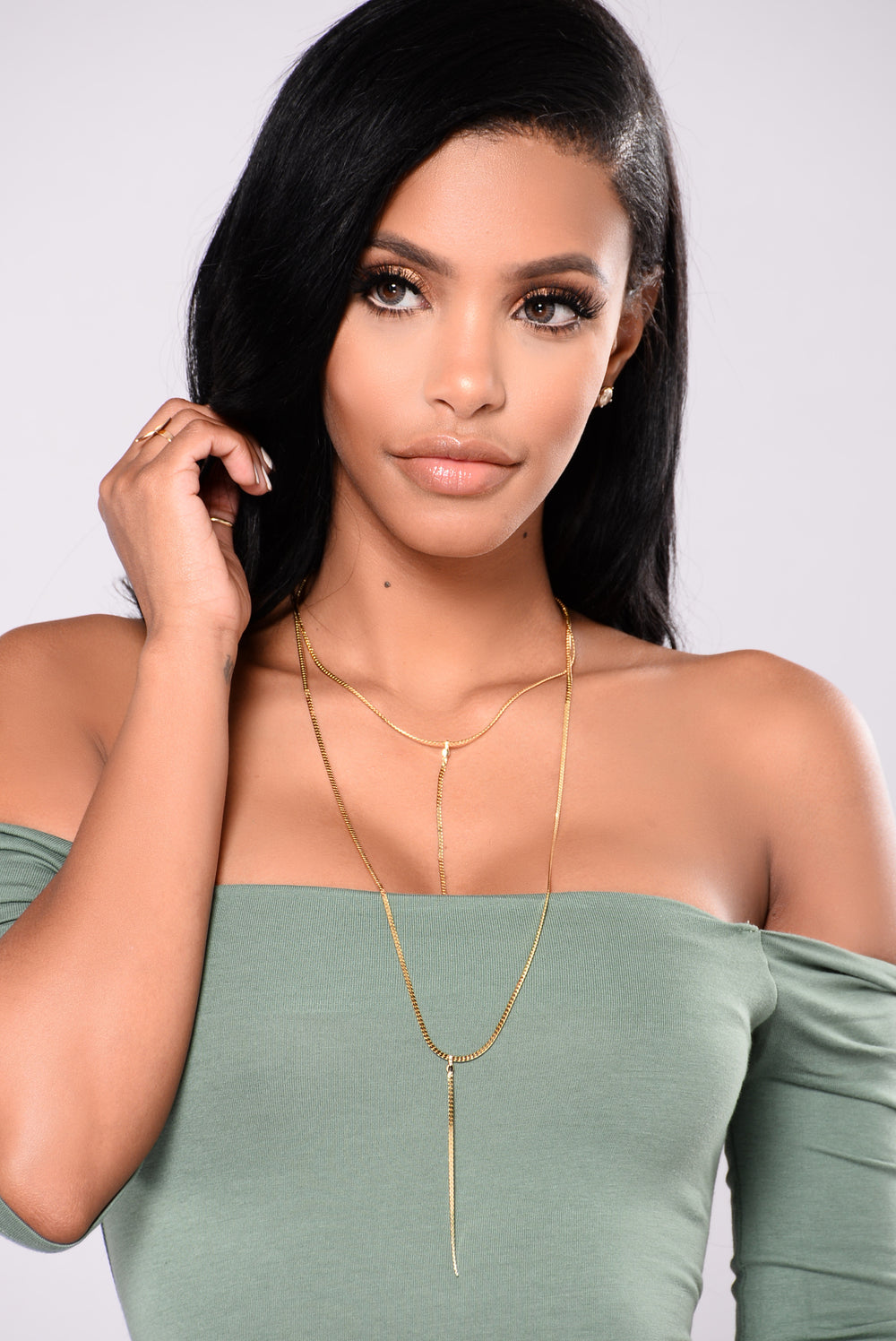 Jamila Layered Necklace - Gold