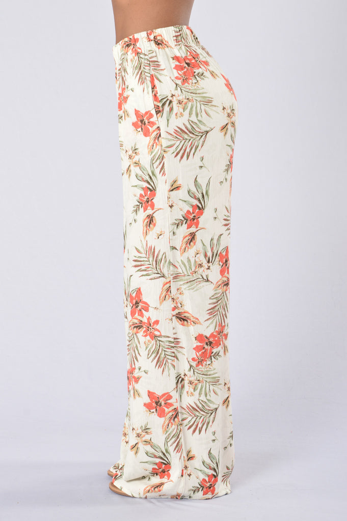 Island Girl Pants - Kauai Natural