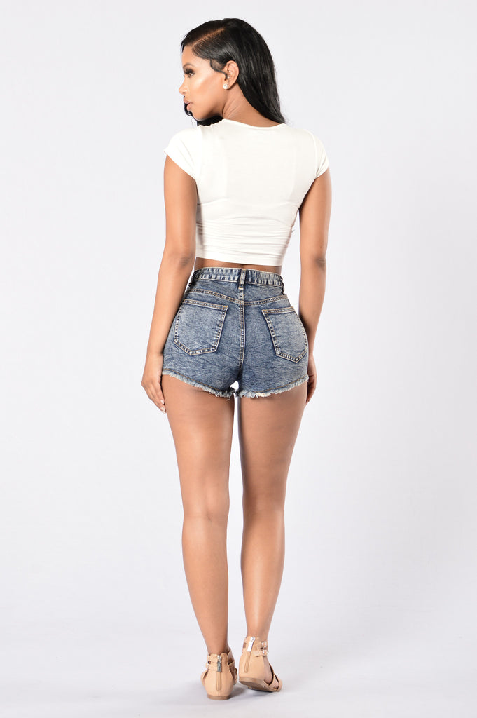 Sparklers Denim Shorts