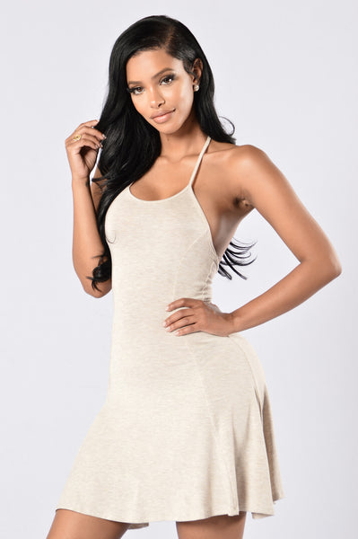 Arabella Dress - Oatmeal
