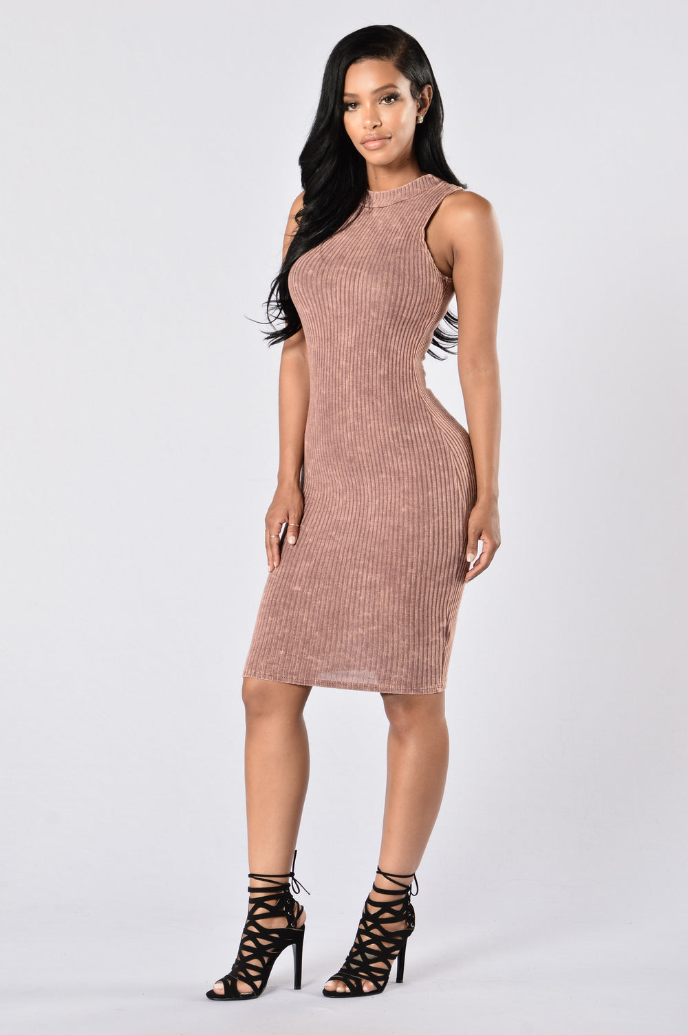 Talk the Talk Dress - Burgundy