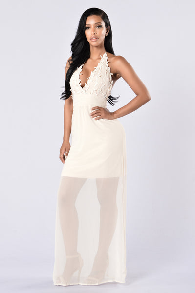 Suite Life Dress - Light Beige