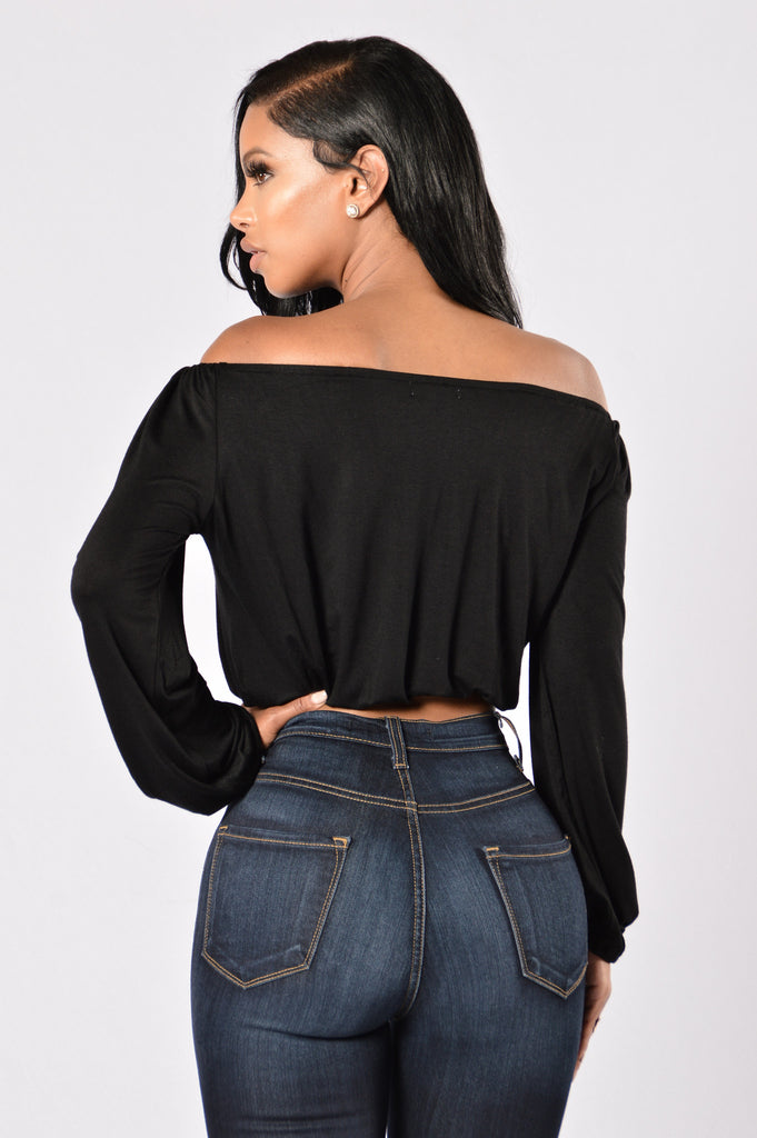 Lea Top - Black