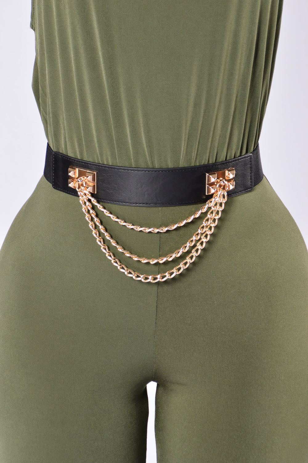 Chain Me Up Belt - Black
