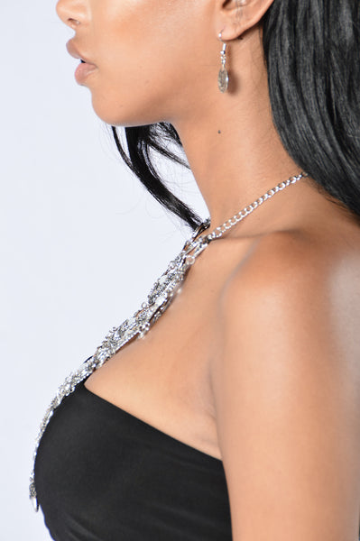 Ice Me Up Necklace - Silver