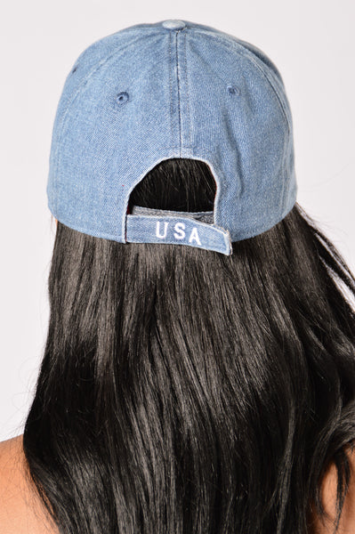 America The Beautiful Cap - Blue
