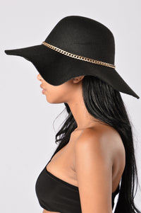 Shady Lady Hat - Black
