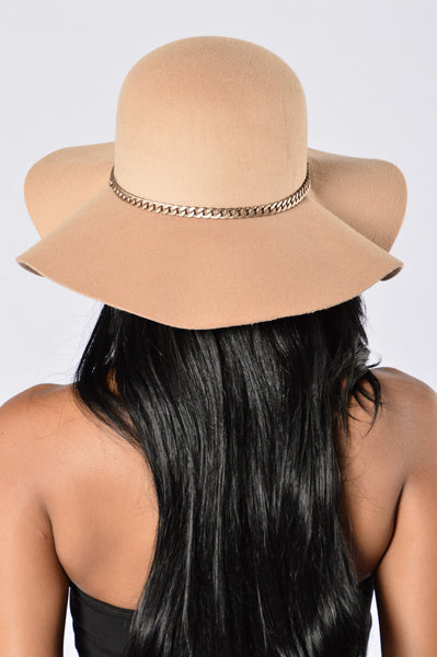 Shady Lady Hat - Taupe