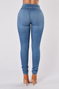 Curves Jegging - Venice Blue