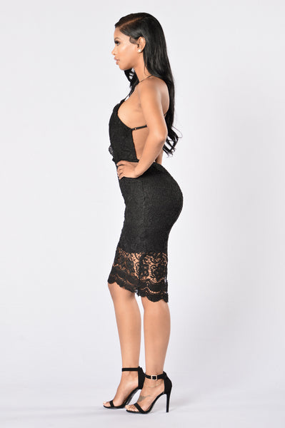 Posey Dress - Black