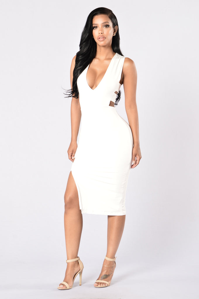 Lead Role Dress - White