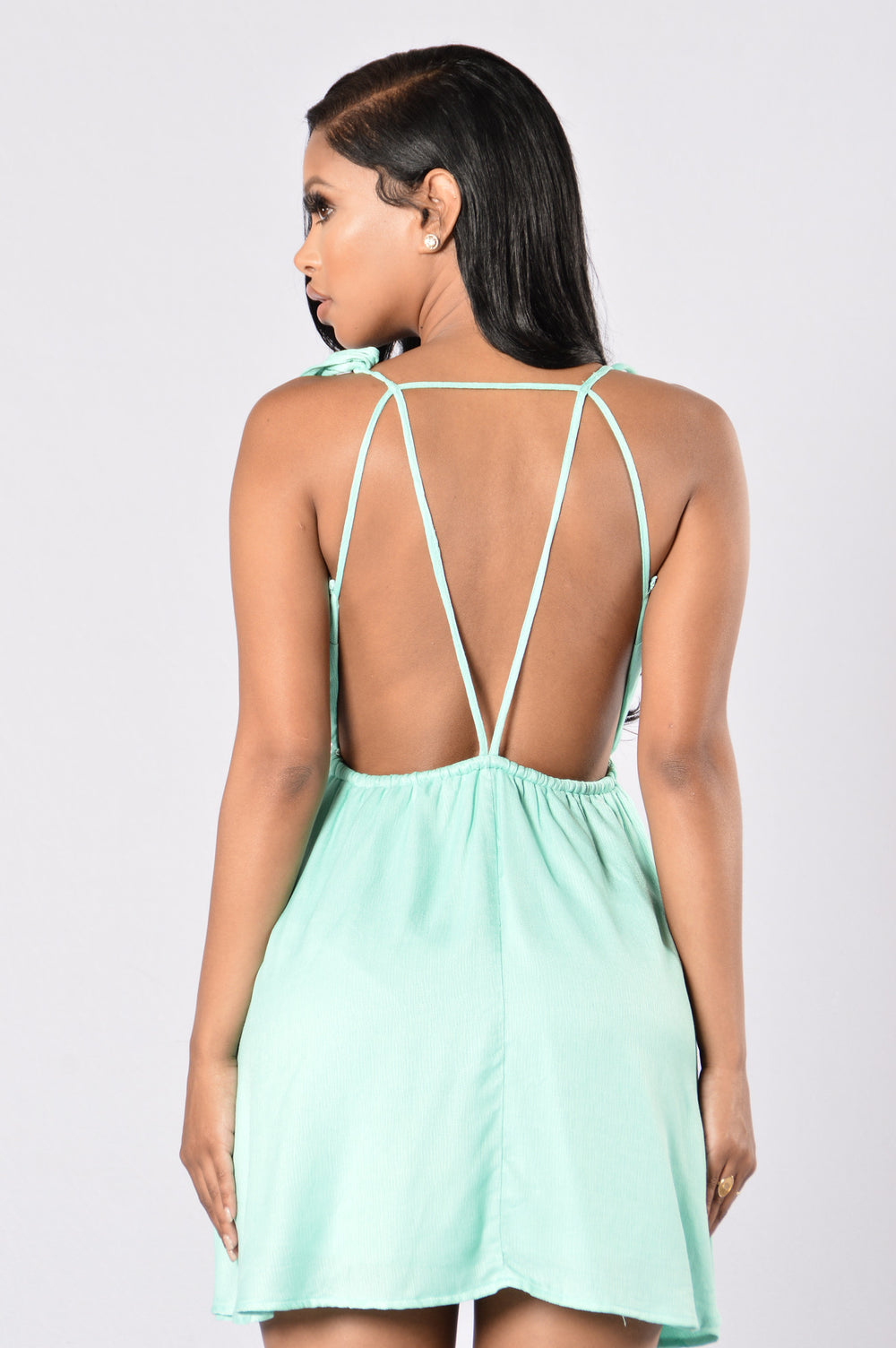 Palm Spring Dress - Turquoise