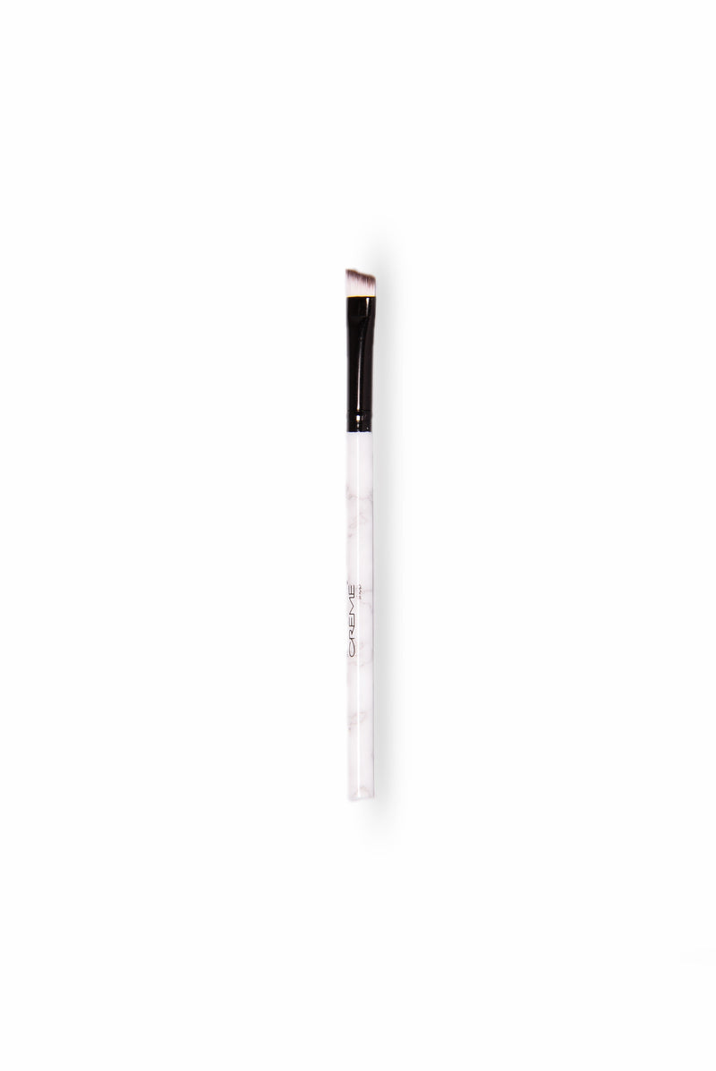 MRBL Collection : Angled Brow And Liner Brush - Marble