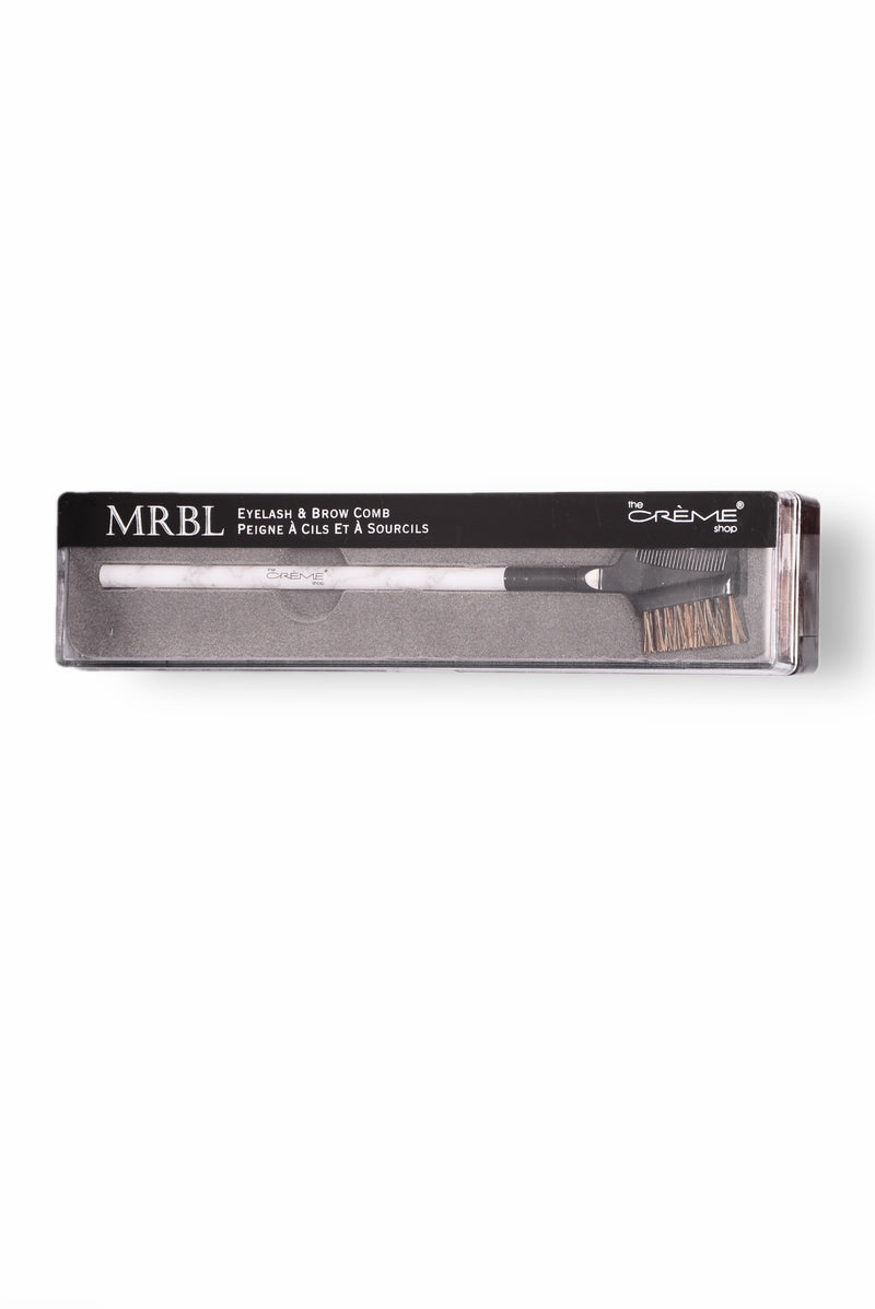 MRBL Collection : Eyelash And Brow Brush - Marble
