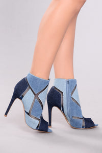 Brooke Denim Bootie - Denim