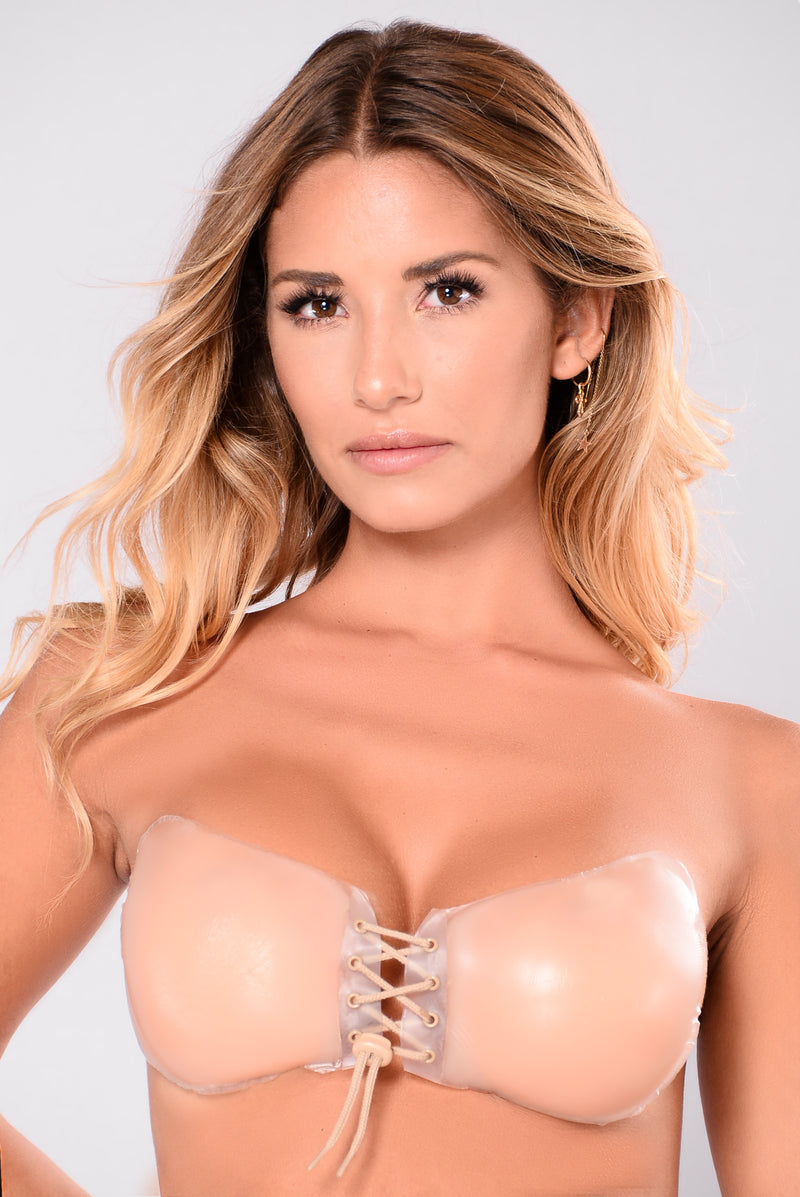 Closer Than Close Invisible Bra - Nude