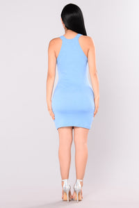 Amaris Dress - Blue