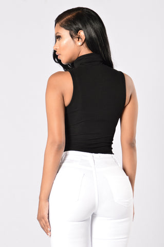 Autumn's Best Bodysuit - Black