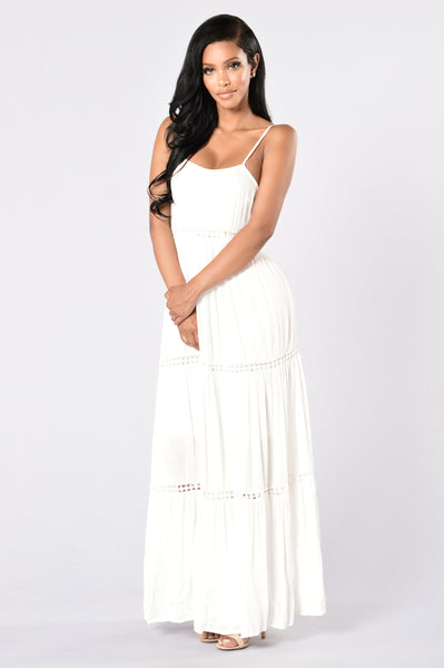 Summer Breeze Dress - Off White