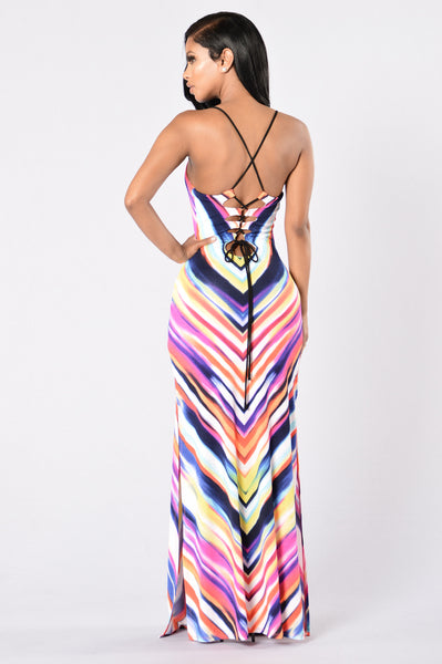 Napa Valley Dress - Fuchsia